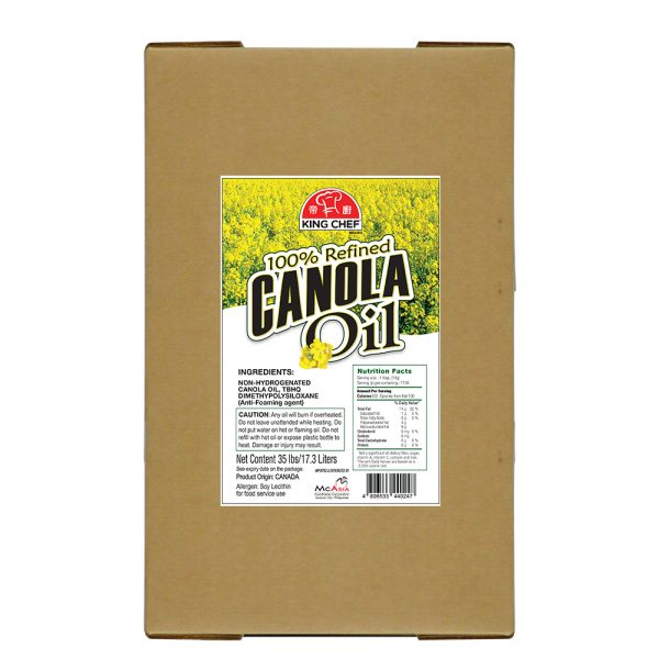 King Chef Canola Oil 17